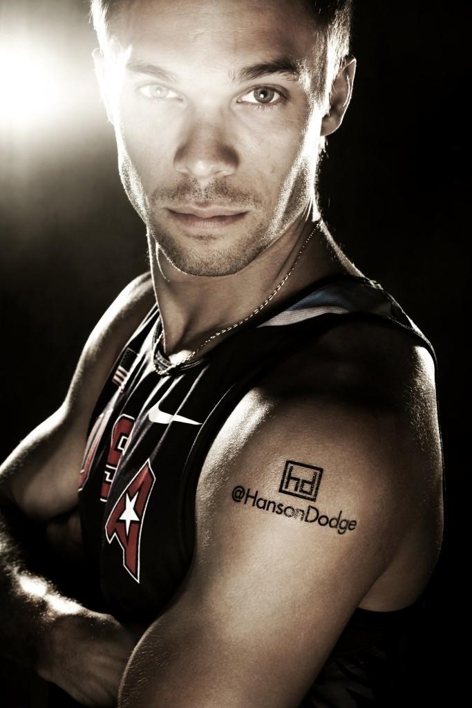 Tatuaje Nick Symmonds