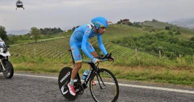 Giro d'Italia 2014 - 97a Edizione - 12a Barbaresco - Barolo 41.9 km - 22/05/2014 - Fabio Aru (Astana) - foto Luca Bettini/BettiniPhoto©2014