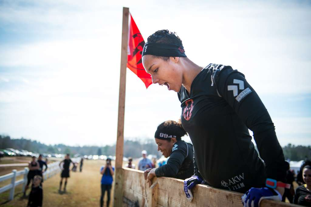 Alicia Keys Spartan Race