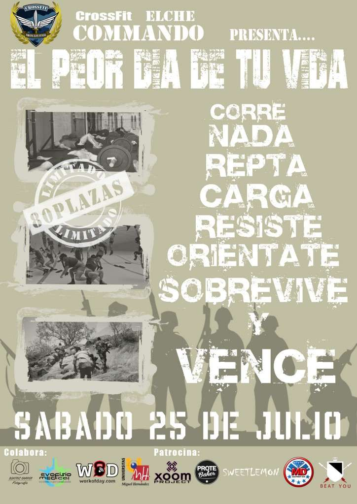 Cartel CrossFit Elche