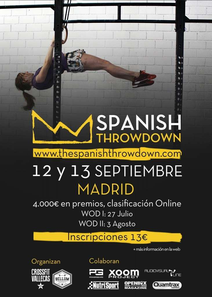 Cartel The Spanish Throwdown