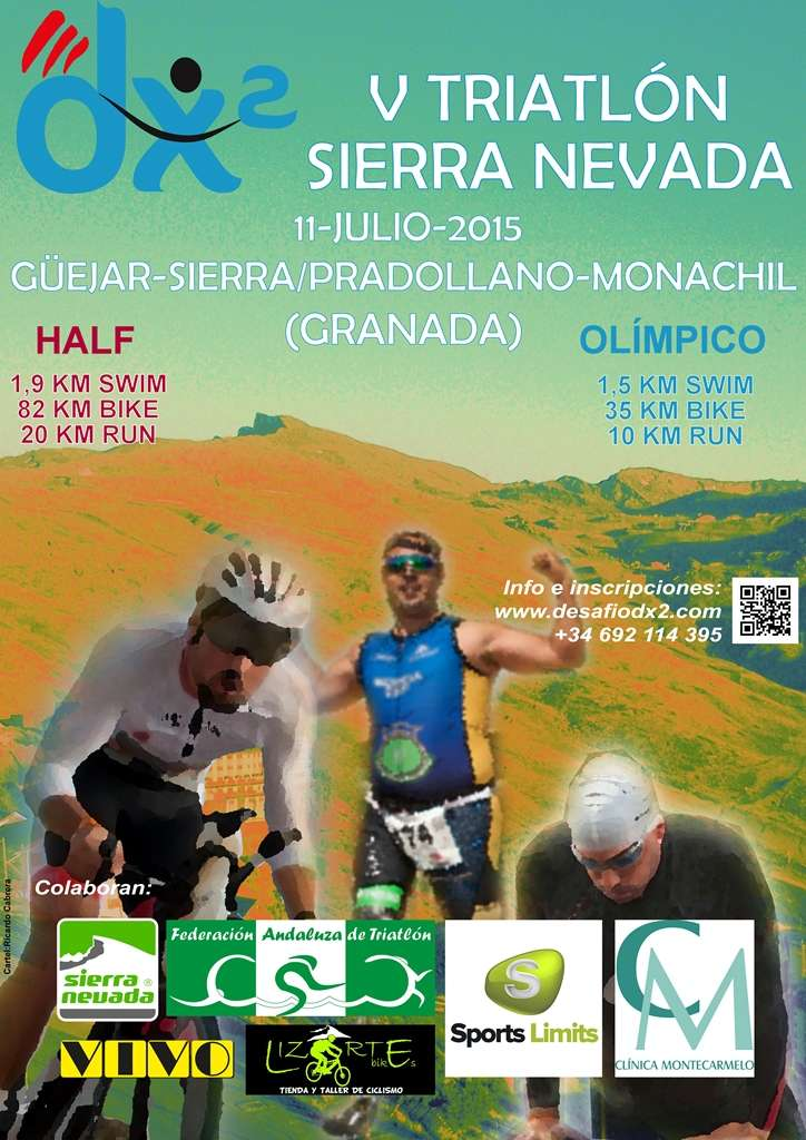 Cartel Triatlon Sierra Nevada
