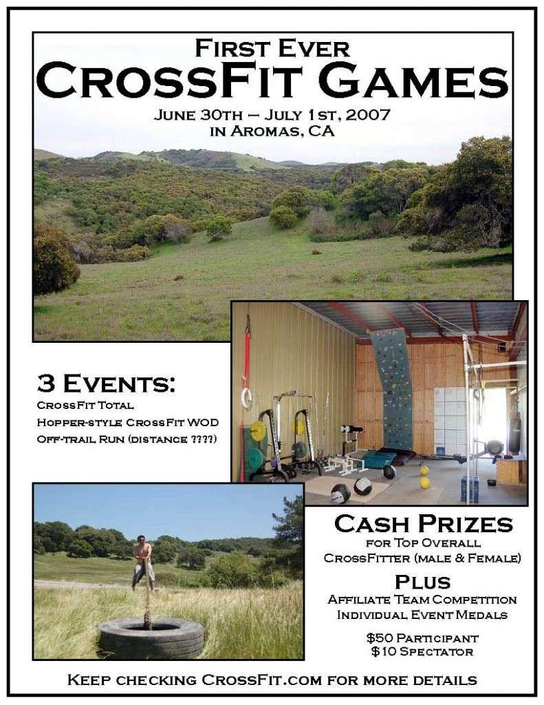 Crossfit Games 2007
