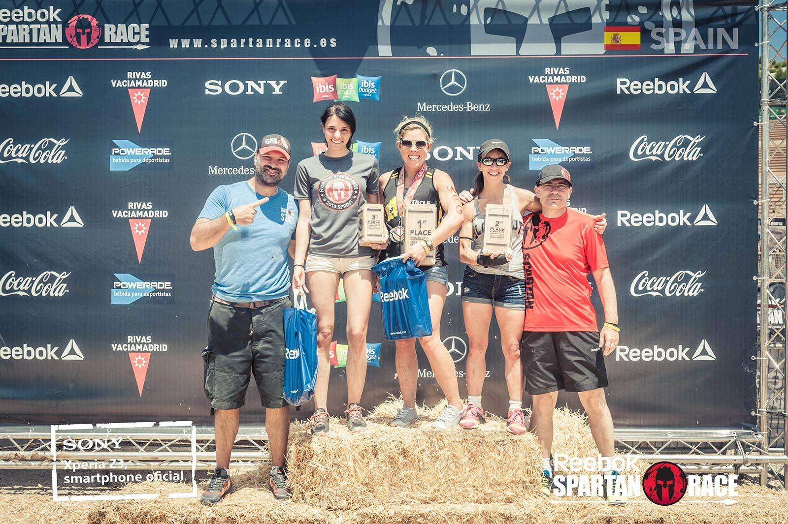 Ganadoras Spartan Race Madrid