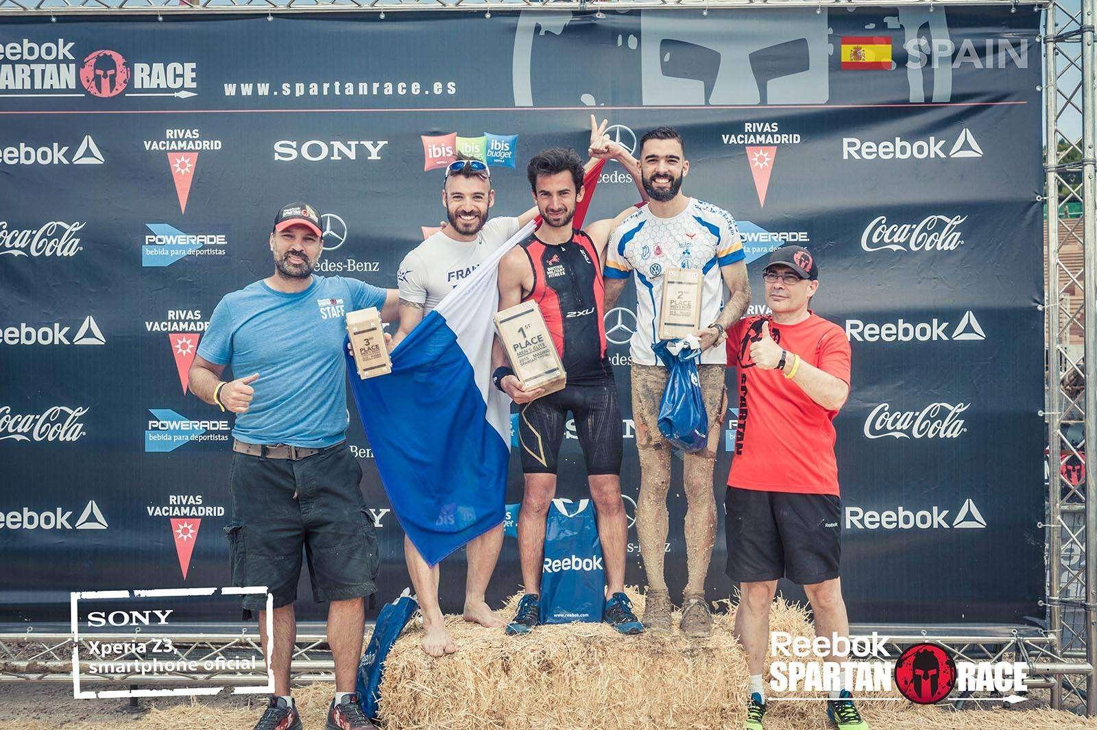 Ganadores Spartan Race Madrid