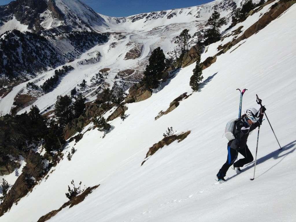 María Vila esquí Alpino