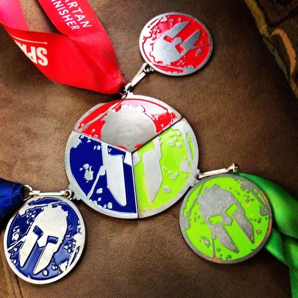 Medallas Spartan Race