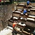 Obstáculo escaleras de paja Iberian Race