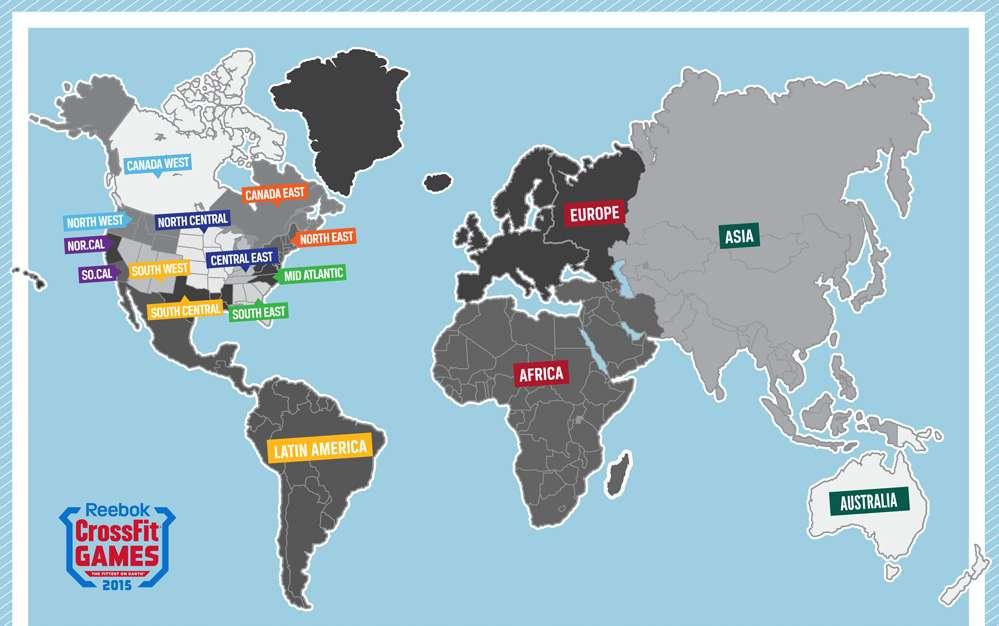 crossfit mapa