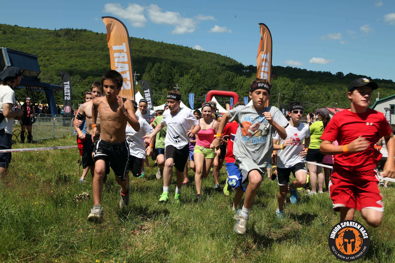 La Junior Spartan Race: una carrera de obstáculos para niños ...