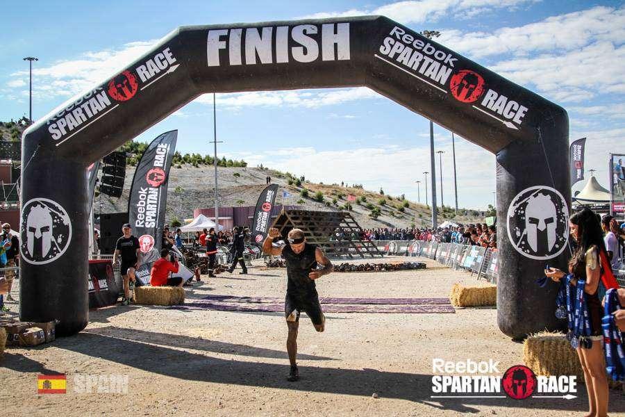 Lluis Barbe en España Spartan Race