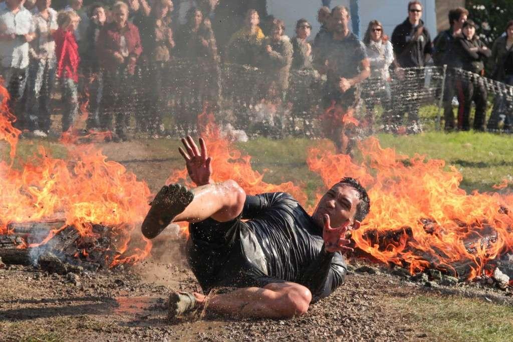 Spartan Race fuego