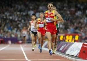 Gustavo Nieves 5000 metros.