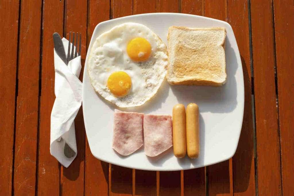 Desayuno dieta hipercalórica