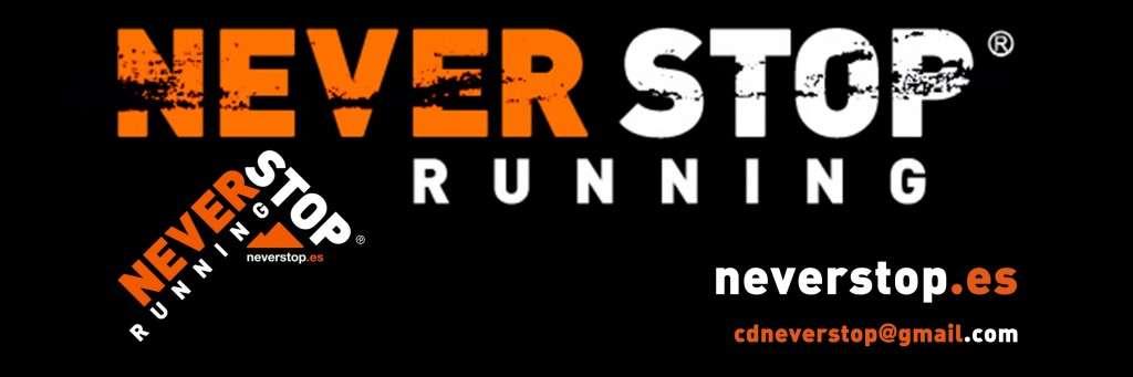 Logo C. D Never Stop Running