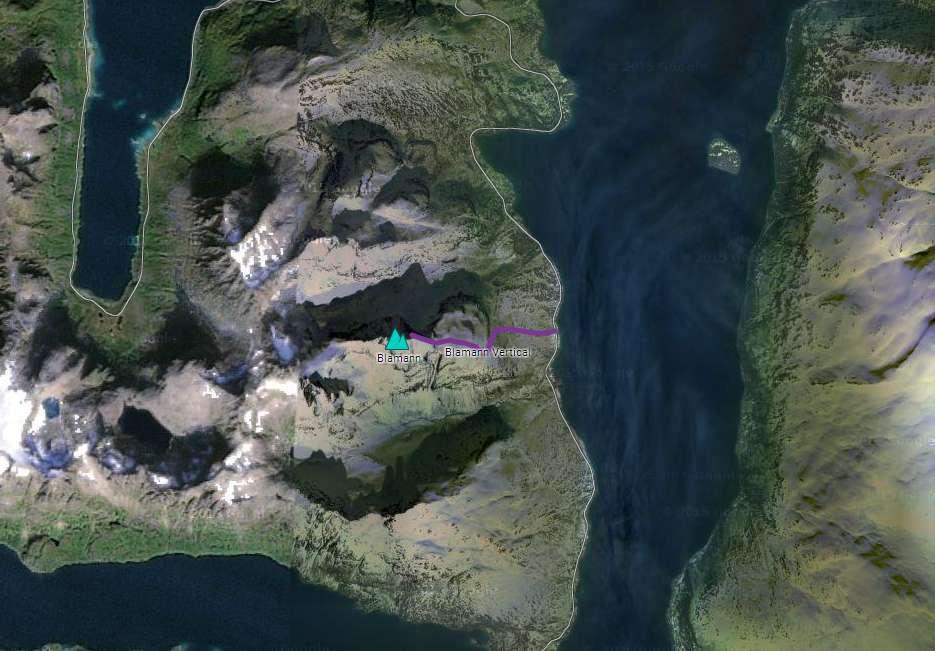 Mapa Blamann Vertical