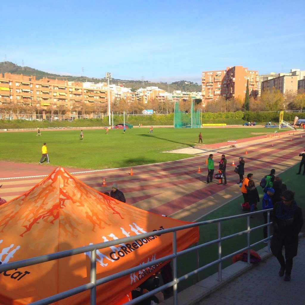 Pista Atletismo Can Dragó