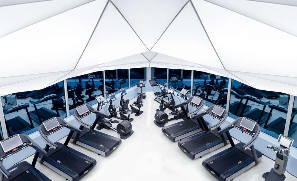 SkyWellness, sala máquinas
