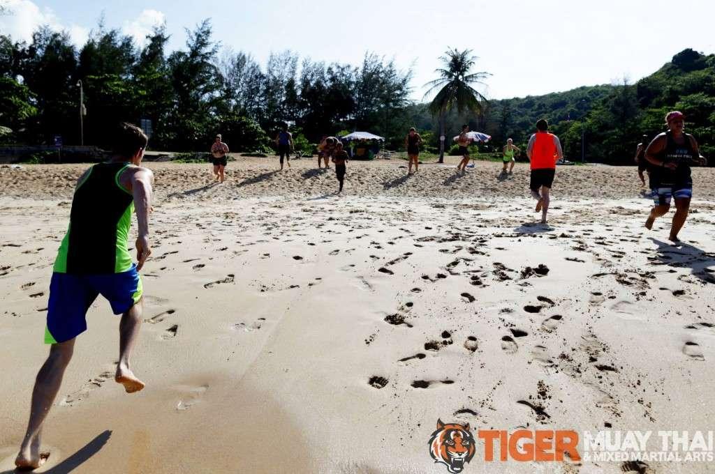 Tiger Muay Thai, playa