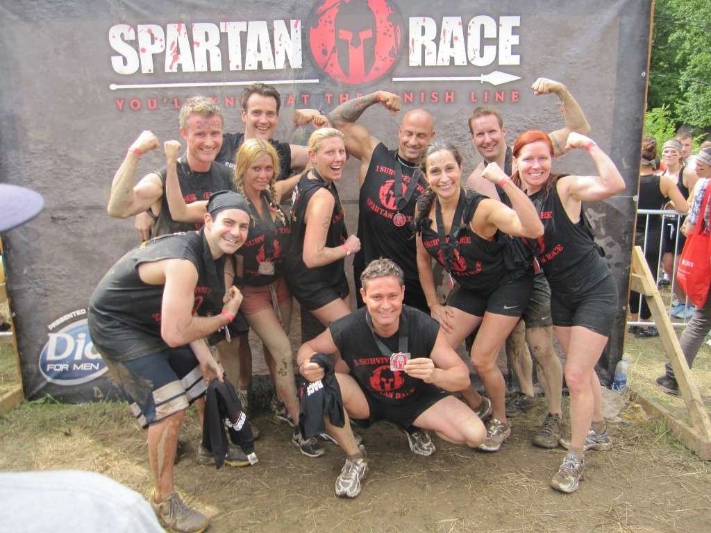 Espartanos Paqueta de Equipo corporativo Spartan Race