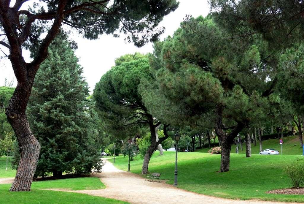 Madrid: parque del Oeste
