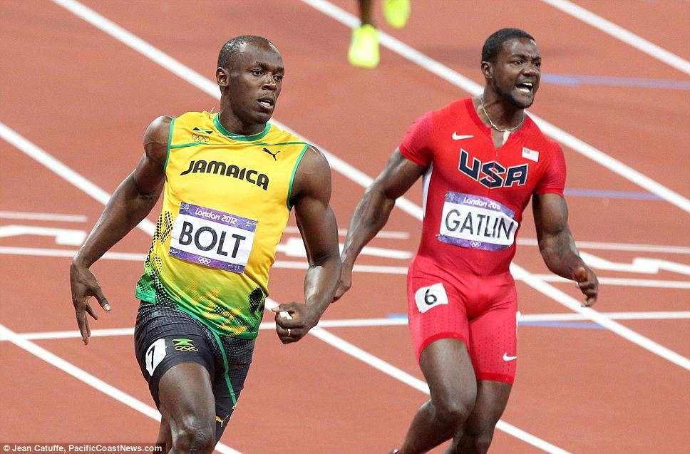 Usain Bolt y Justin Gatlin