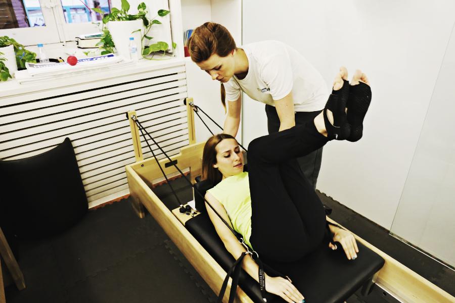 Zahara practicando pilates :: Marina Kaysen