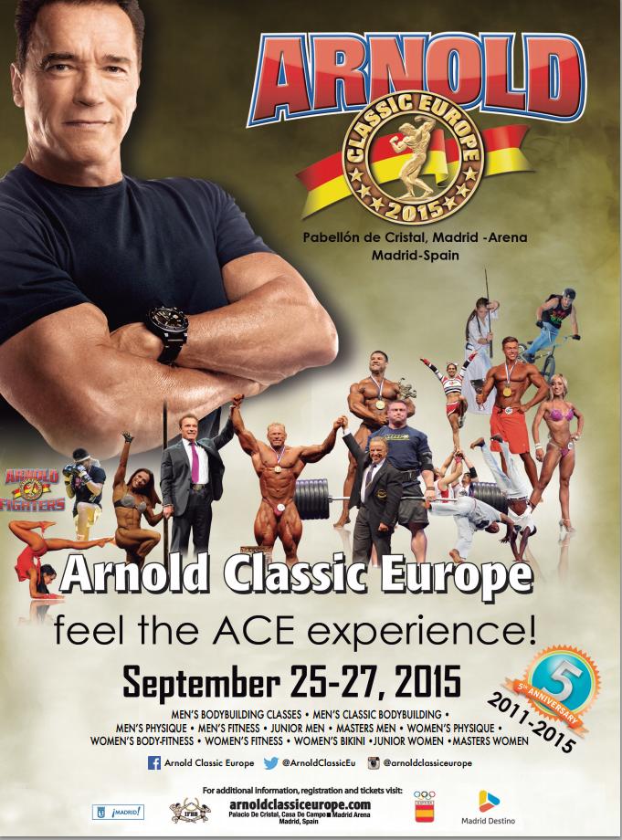 Arnold Classic Europa