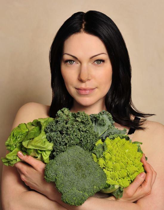 Laura Prepon vegana