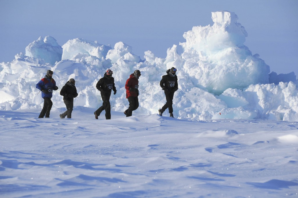 North Pole marathon 2011