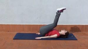 Abdominales elevación de piernas (2)