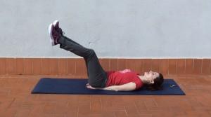 Círculos con las piernas elevadas (2)