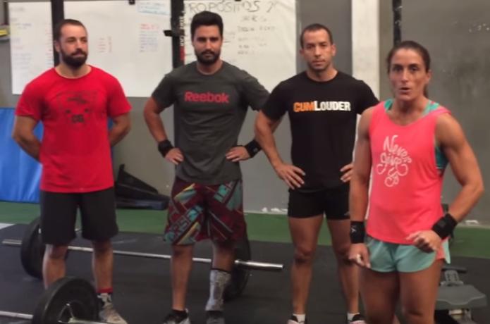 El equipo Crosschopo con Fabrizio, Liliana y Pablos representarán a CrossFit Gijón
