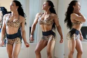 Leidy Hernández conjunto leopardo destacada