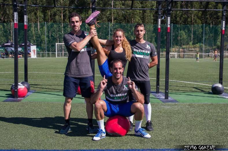 No Limits: Erik, Eder, Losu y Jennifer. Del Crossfit Navarra