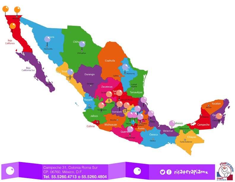 Risaterapia se ha extendido por todo el país de México.