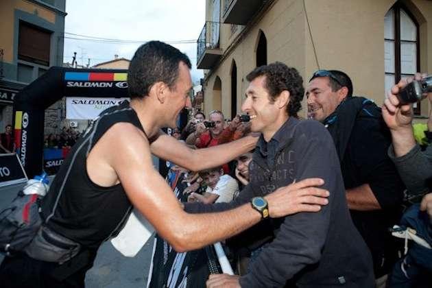 Miguel Heras y Roberto Heras
