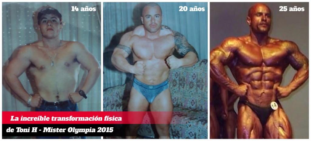 Transformación Toni H evolución