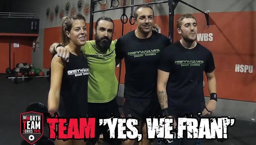 Yes, We Fran!: ¡Noelia, José, Saul y Jaime de Greywolves CrossFit