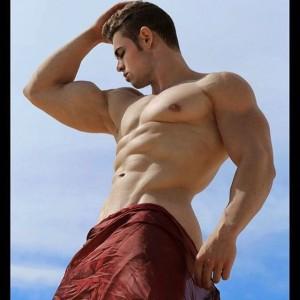 Cristian Romero, músculos de hierro