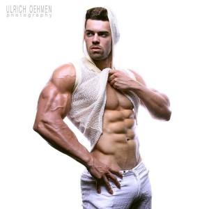 Cristian Romero, modelo Fitness