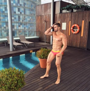 Cristian Romero, músculos de acero