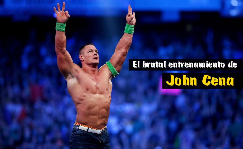 Entrenamiento John Cena