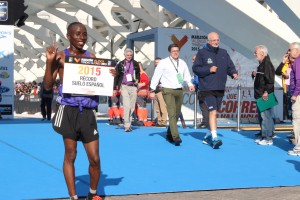 Ganador Maratón Valencia 2015