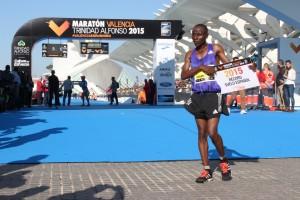 Maratón Valencia 2015 resultados ganador fotos