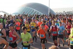 Salida Maratón Valencia 2015