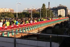 Salida 10k Valencia 2015