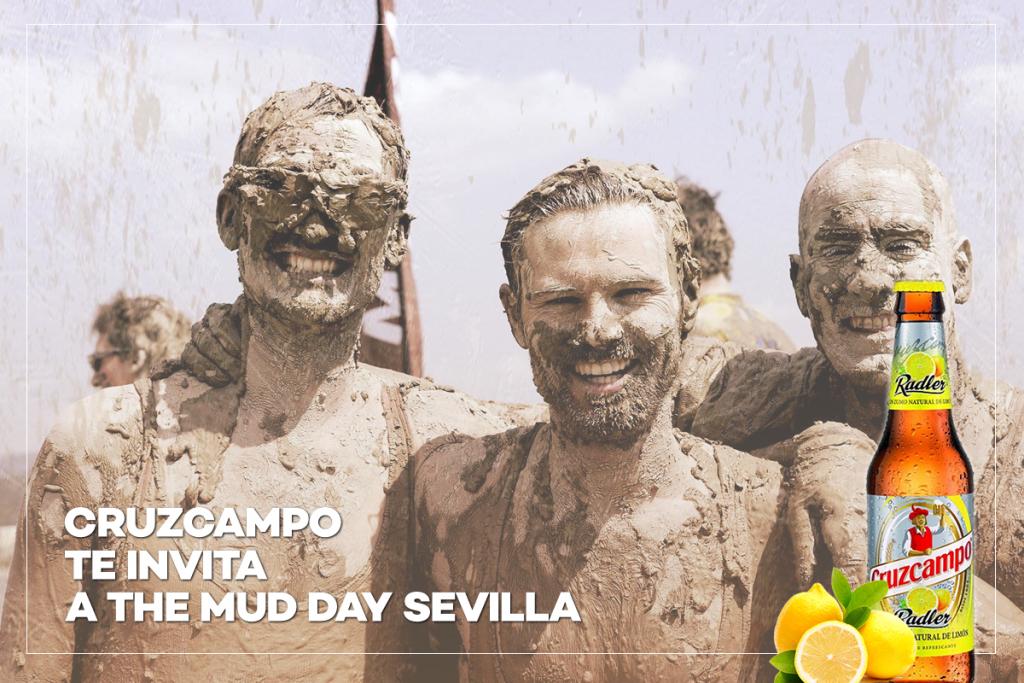 Cruzcampo te invita a The Mud Day Sevilla