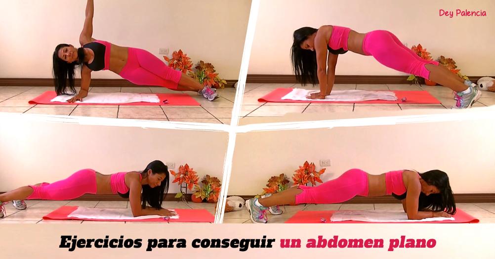 Los mejores ejercicios para conseguir un abdomen plano.