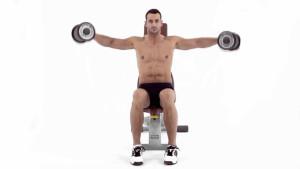 elevacion lateral de hombros